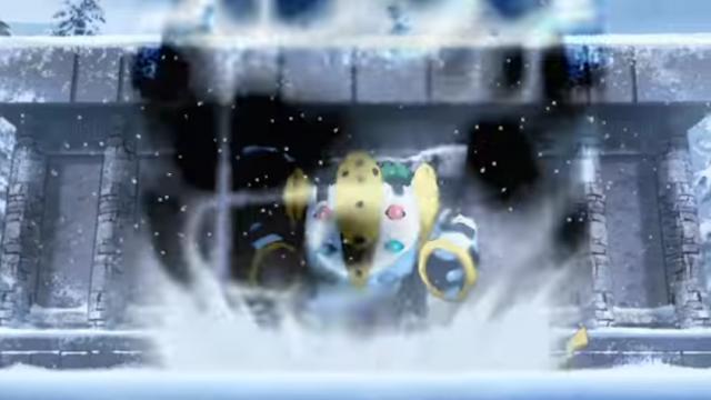 Regigigas Pikachu Pokémon Generations Snowpoint Temple