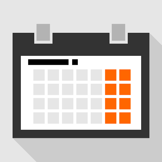 Full Size  Preview Flat Calendar