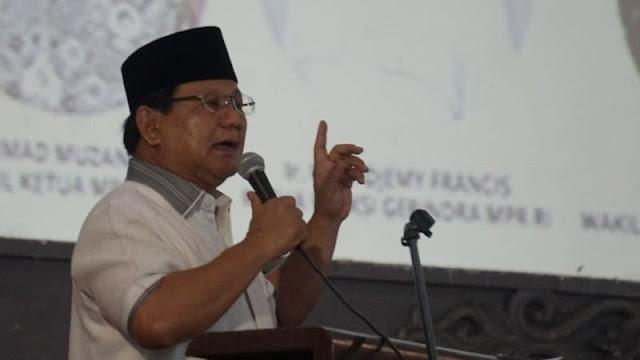 Prabowo soal Aksi WO SBY: Banyak Tindakan yang Perlu Dipertanyakan