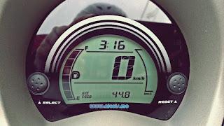 Jarak yang bisa ditempuh Nmax dengan bensin 1 liter jika dikendarai secara wajar