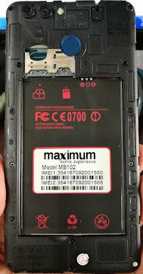Maximum MB101 Flash File MT6580 6.1 LCD Fix Hang Logo & Dead Recovery Stock Rom