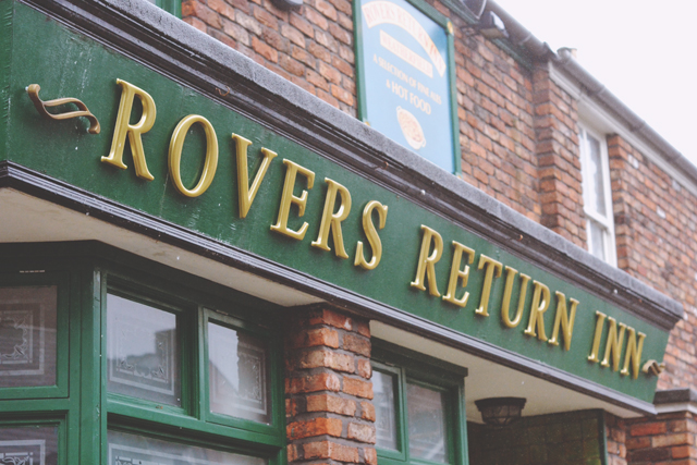 Rovers Return Inn Exterior