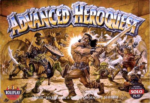 Games Workshop Advanced Heroquest