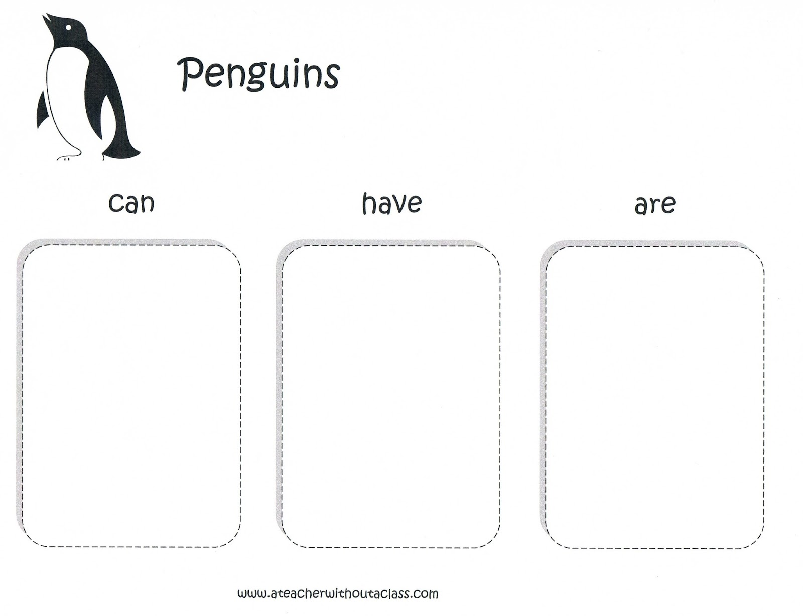 Teachers First Grade Penguins Worksheet Teachers Best