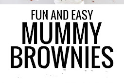 Halloween Easy Mummy Brownies Recipe