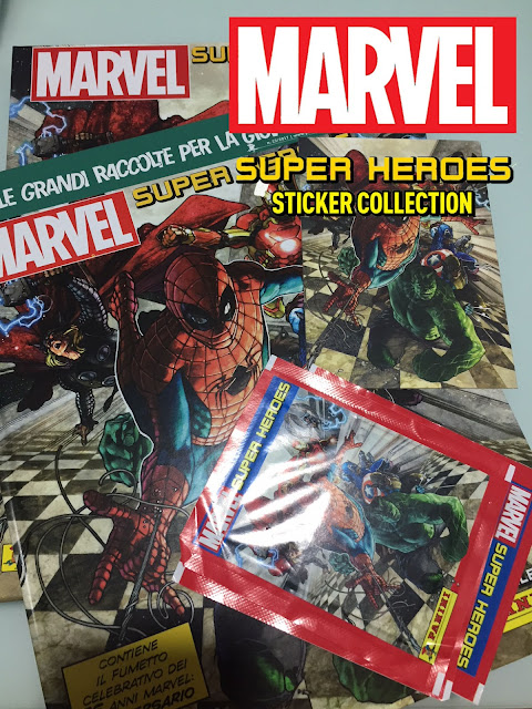 Marvel Super Heroes album figurine Panini