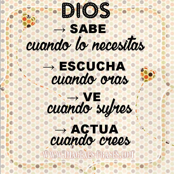 imagen para motivar la fe en Dios