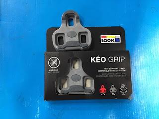 Cleat RB Look Keo Grip Grey or Black