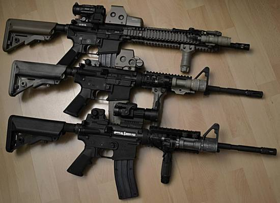Senapan Otomatis (automatic rifle) yang Populer di Game-game