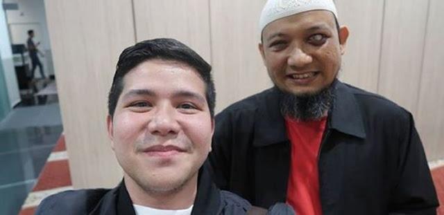 Ketemu Novel Baswedan, Haykal Kamil Tanya Soal Tiang Listrik dan Bakpao