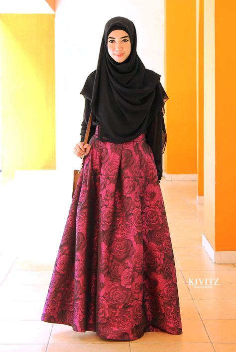 10 Trend Model Baju Muslim Syar i Modis Terbaru