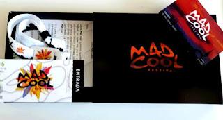 Mad Cool, Festival, 2016, Madrid, Guía Práctica, cartel, pulsera