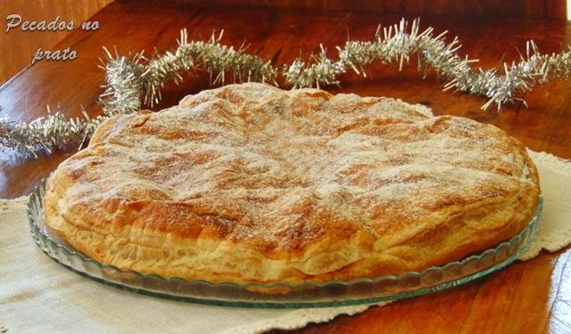 Receita da Tarte galette des rois de coco