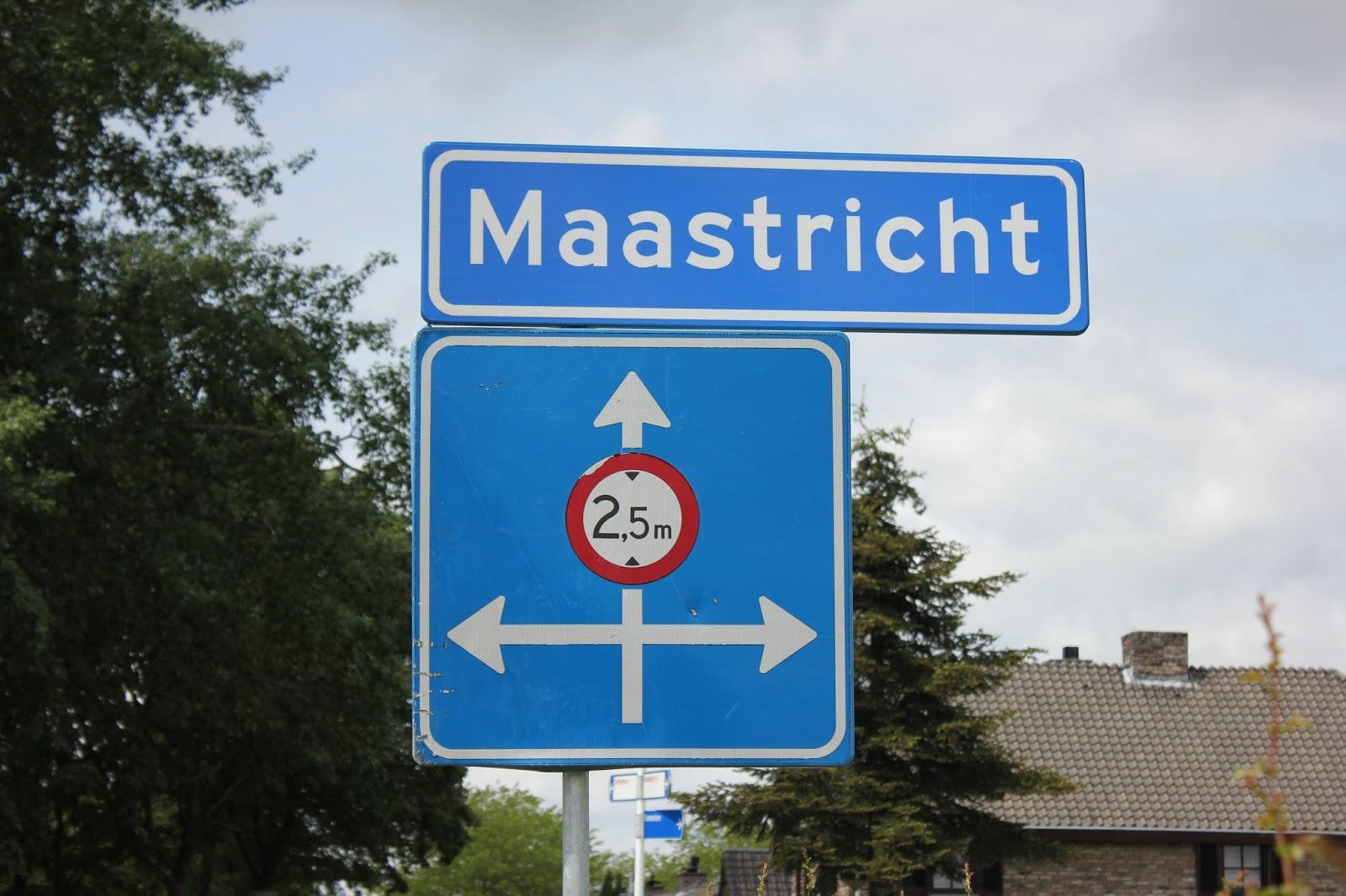 Pieterpad lopen: van valkenburg naar maastricht op 21 mei 2016.