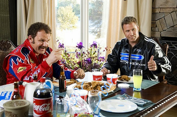 talladega nights sur LACN