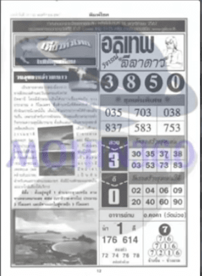 Thai Lottery First Paper For 16-11-2018 | November Result