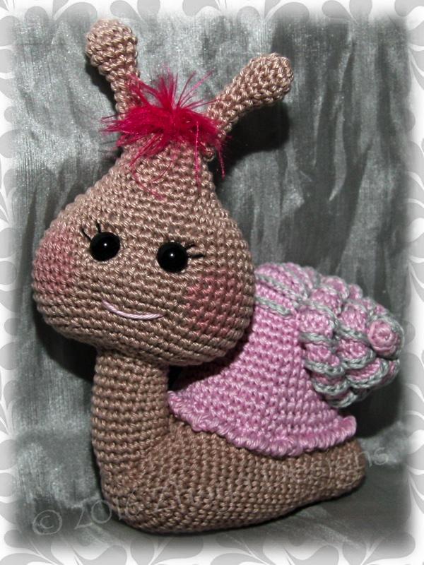 Crochet Snail Pattern Best Ideas | The WHOot | 800x600