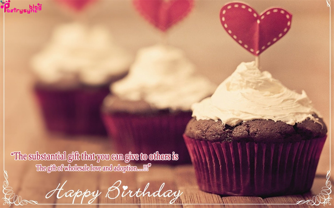 Happy Birthday Wishes With Cup Cake Pictures For Best