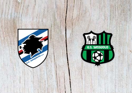 Sampdoria vs Sassuolo - Highlights 22 October 2018