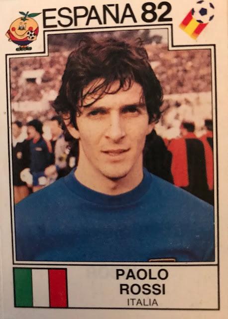 Paolo Rossi, Album Spagna '82