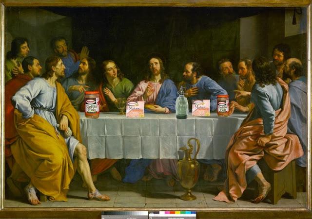 The Manischewitz Last Supper (artist unknown)