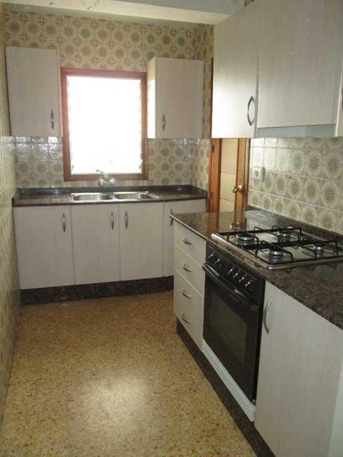piso en venta avenida cardenal costa castellon cocina