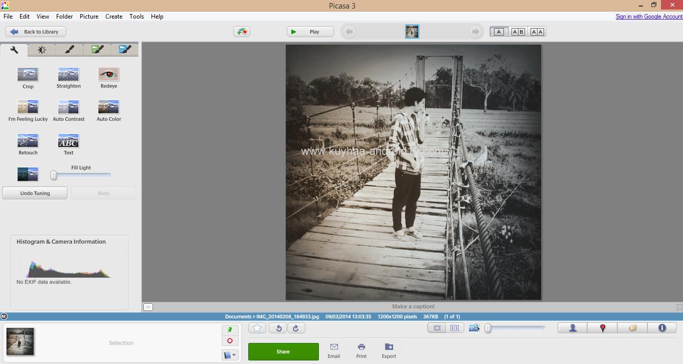 Picasa 3 Photo Editing Software