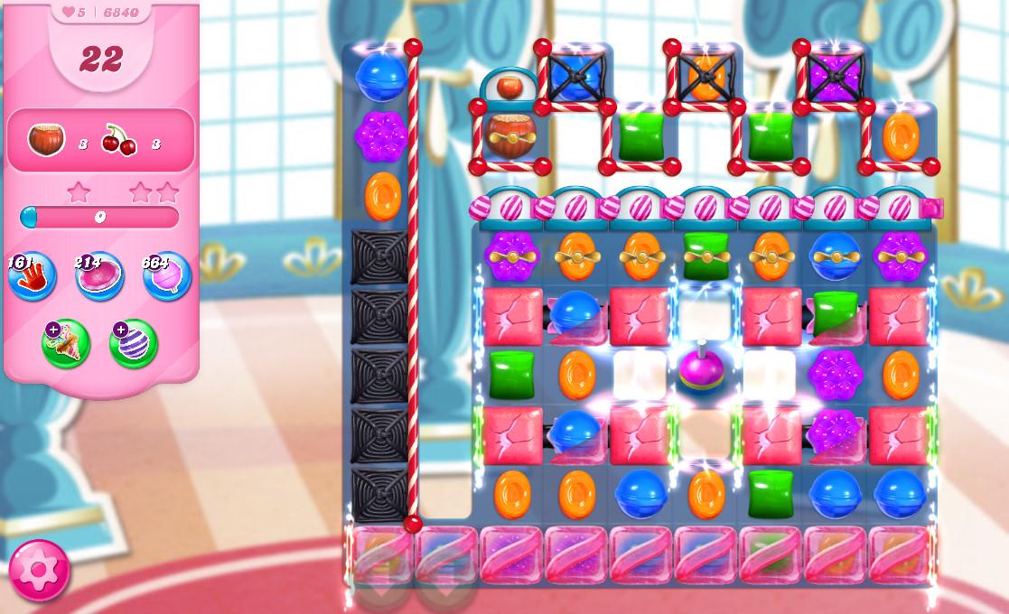 Candy Crush Saga level 6840