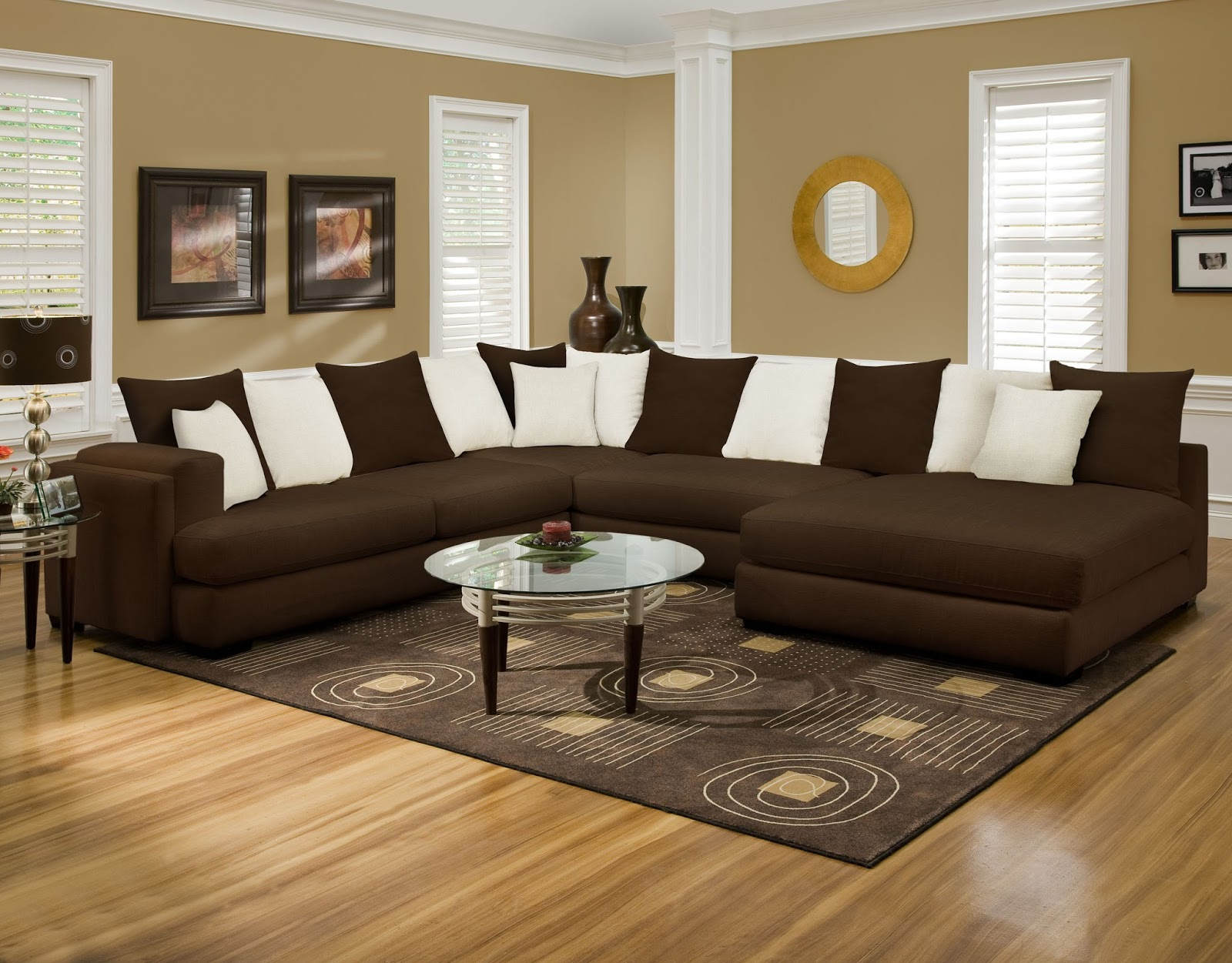Albany Industries Sectional Sofa