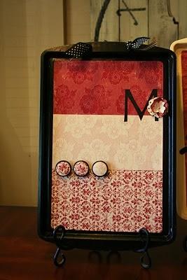 A Dash of Design: DIY - Baking Sheet Magnetic Board