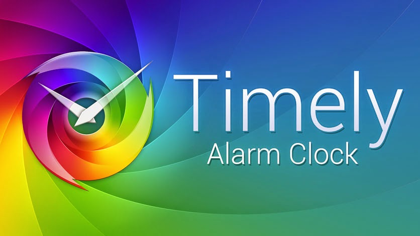 Timely, app despertador para android