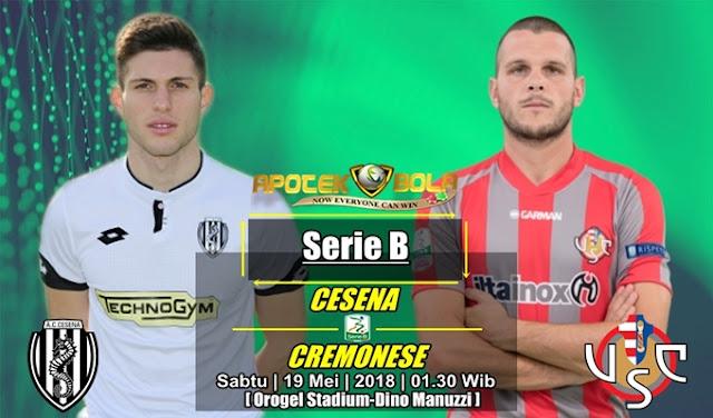 Prediksi Cesena vs Cremonese 19 Mei 2018