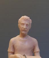 modellino realistico persona reale modellato a mano scultura miniatura orme magiche