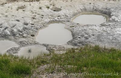 黃石國家公園, yellowstone national park, West Thumb Geyser Basin