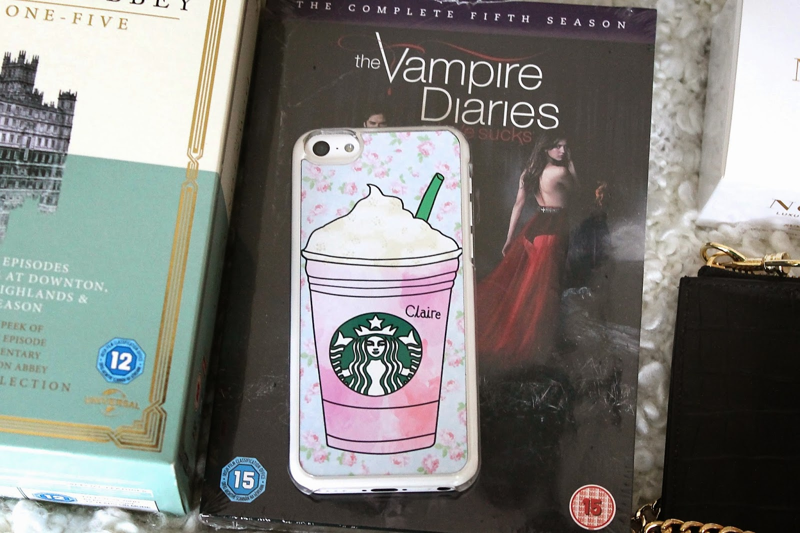What I Got For Christmas 2014, Haul, Starbucks Phone Case, Etsy
