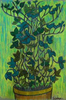 English Ivy by Schulman | collect this art at http://www.imagekind.com/English-Ivy_art?IMID=4243197a-9e63-4ad3-9bd0-d562a67803b6