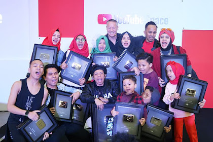 10 Youtuber Indonesia Yang Sudah Memiliki 1 Juta Subscriber