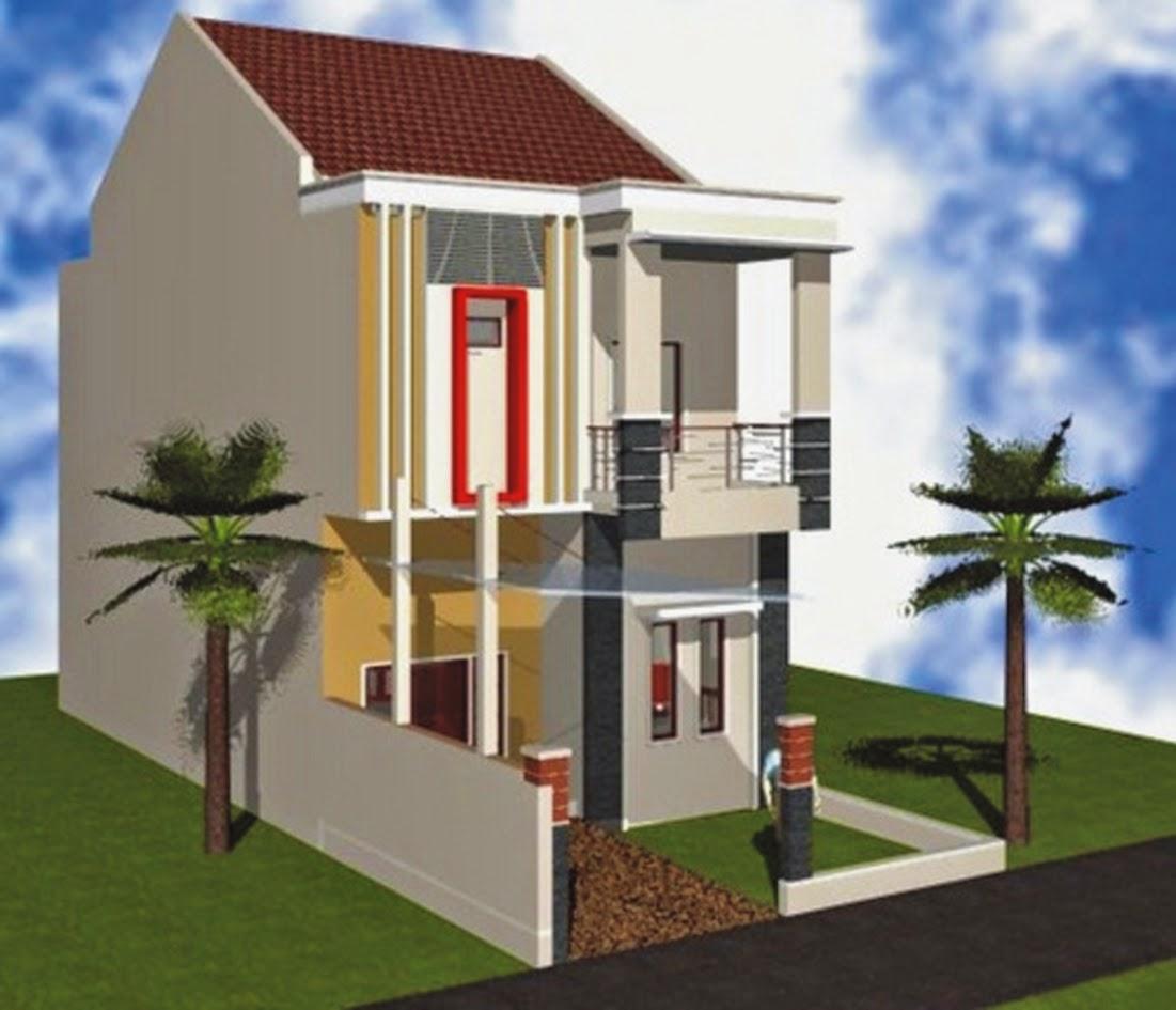 Layout Rumah Minimalis Type 36 2 Lantai Arsihome