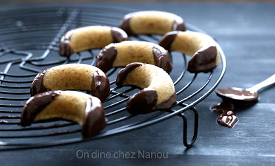bredele, vanillekipferl , Christophe  Felder, noisettes, amandes, chocolat