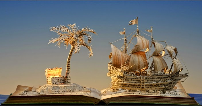 07-Treasure-Island-Su-Blackwell-Book-Fairy-Tale-Sculptures-www-designstack-co