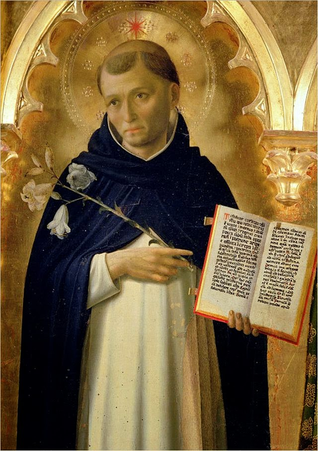 St. Dominic, My Patron Saint for 2015