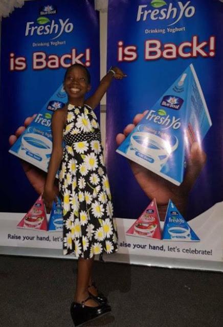 Little Comedian Emmanuella signed as Fresh Yo Ambassador