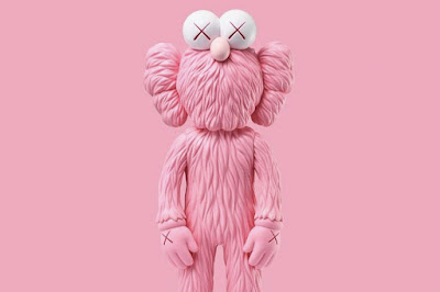 BFF Pink Edition Vinyl Figure by KAWS
