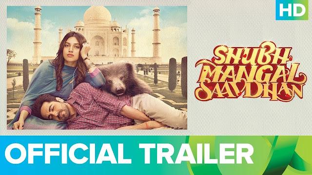 Shubh Mangal Saavdhan Movie Official Trailer
