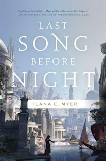 Interview with Ilana C. Myer, author of Last Song Before Night