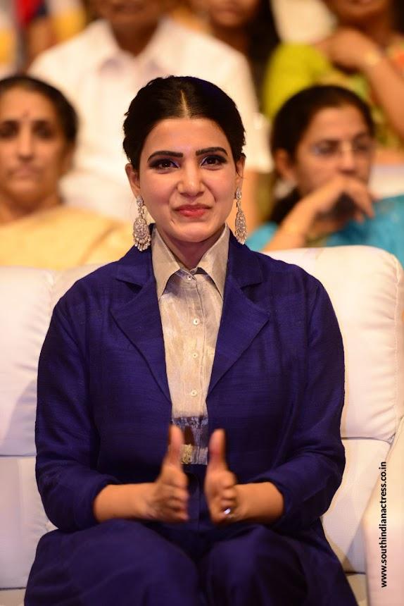 samantha at mahanati music launch 1