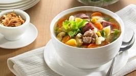 Cara memasak sop jamur, resep sop jamur