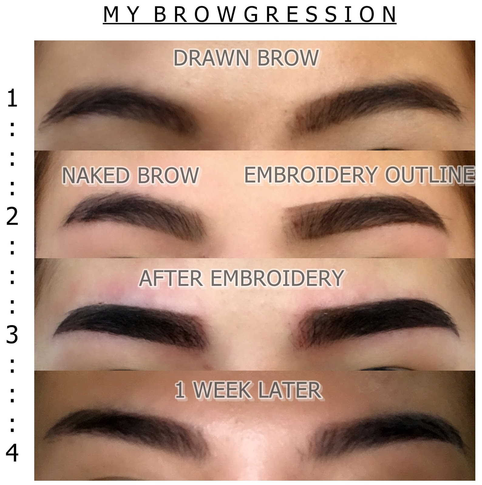 Brow Embroidery Serenes Blog