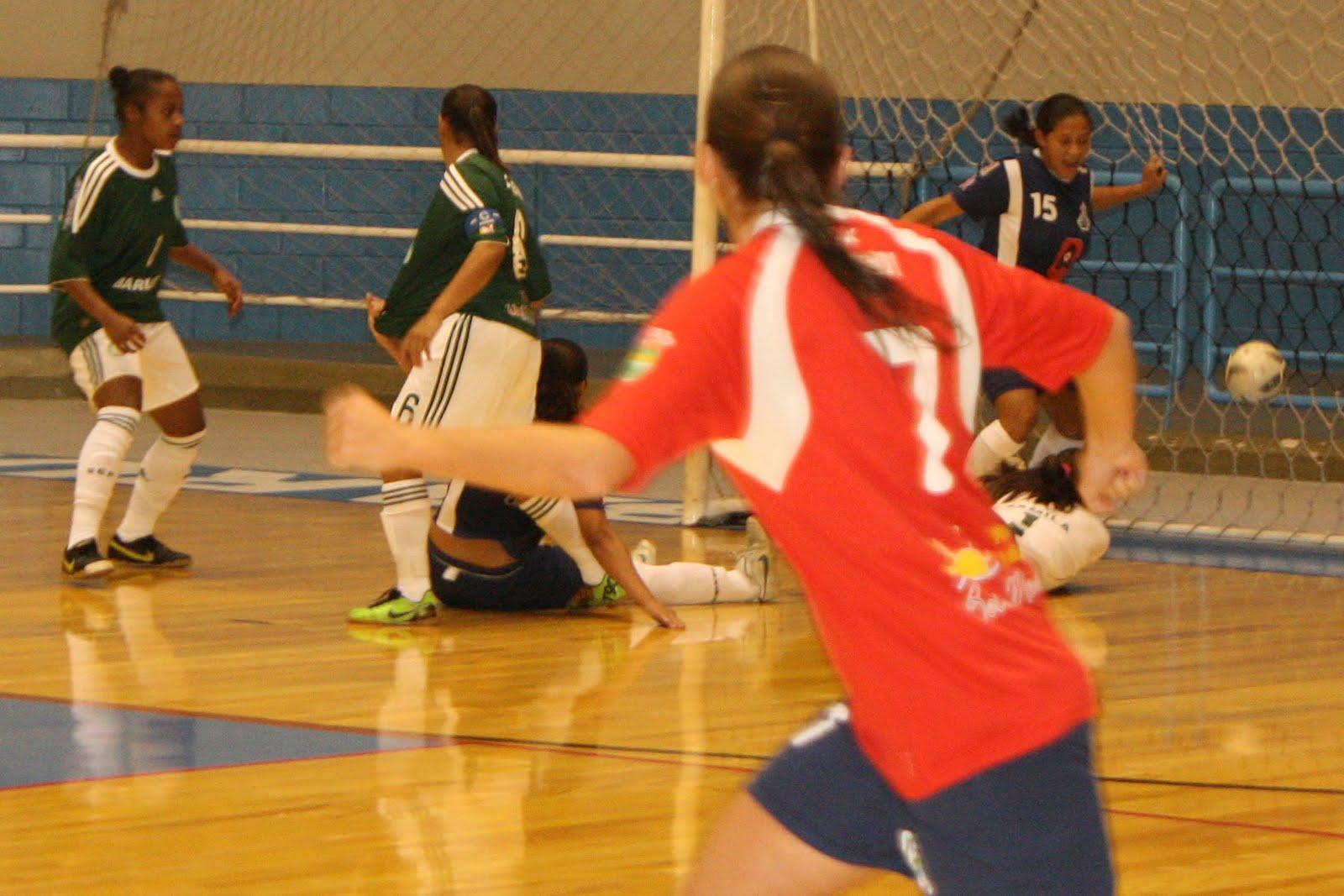 Em partida emocionante pelo Campeonato Metropolitano Paulista de futsal  feminino d58a753a074d1