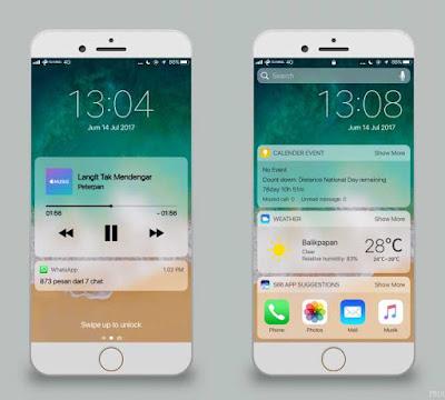 Tema Xiaomi iOS Alakadarnya 11 (3rd Apps)